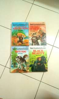Hardcover Great Illustrated Classic Novels