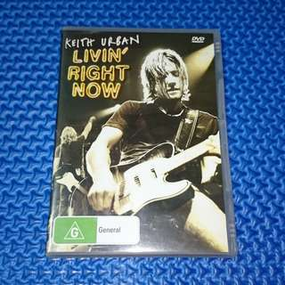 🆒 Keith Urban - Livin' Right Now [2005] DVD