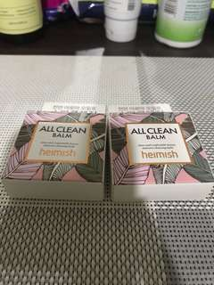 Heimish All Clean Balm Authentic Sample