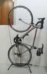 Vertical bike stand