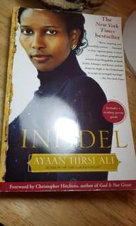 Infidel by Ayaan Hirsi Ali New York Times bestseller