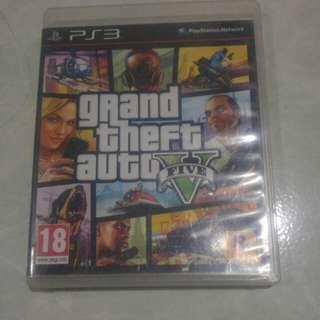Kaset PS3 GTA V ORIGINAL