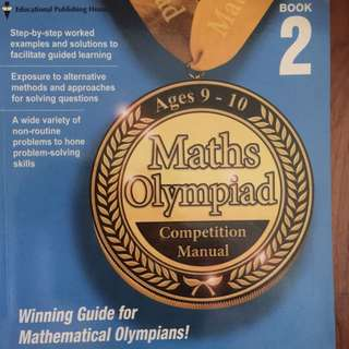 Maths Olympiad (Ages 9-10) . The price is fix at $7