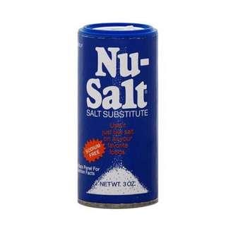 NU Substitute Salt, 3 oz