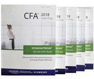 CFA Level 1 2018 study notes, practice exams volume1n2