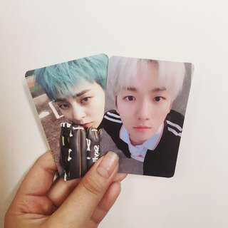 WTT | EXO-CBX Blooming Days Official Photocard