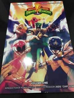 BOOM! Studios Mighty Morphin Power Rangers Trade Paperback Volume 1