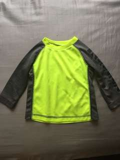 Reebok Rash Guard Long Sleeve