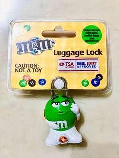 [全新 Brand New]M&M Luggage Lock 行李鎖 - 正版  (完整包裝)
