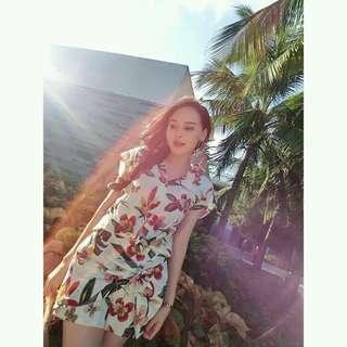 Korean Terno (Blouse+Skirt)