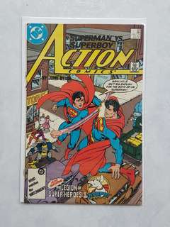 DC Comics  Action Comics 591 Near Mint Condition John Bryne Art