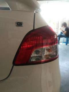 back lamp (vios 2010)