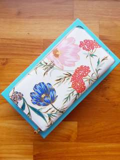 2018 Kate Spade Cameron Street Blossom Lacey Large Wallet