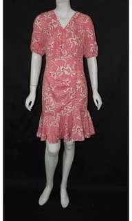 Drop waist office and formal dress
