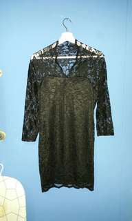 Lace Kurung Top
