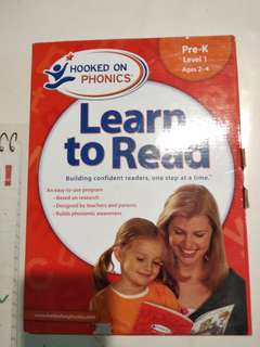 Phonics - learn to read set