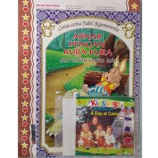 Arnab Dengan Kura-Kura Dan Cerita-cerita Lain + Kidsongs A Day At Camp Vol.10 VCD