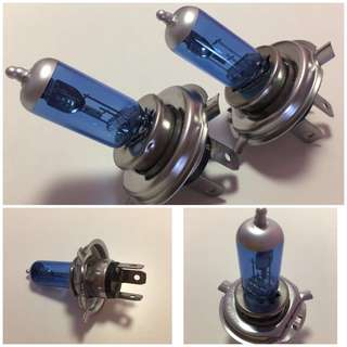 H4 car headlight bulb 3 tails