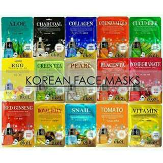 Ekel Face Mask (100% Authentic from korea)