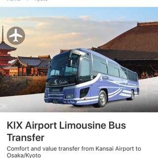 Limousine bus transfer