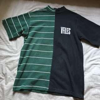 VFILES Two Tone Shirt