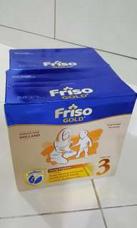 [Instock with bundle Promo] Friso Gold Refill pack 1.2kg