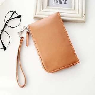 PU leather purse with straps