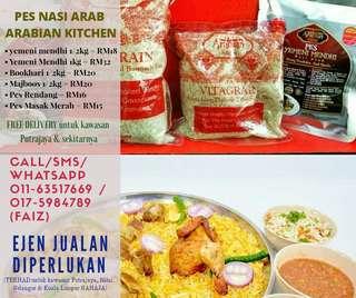 Pes Nasi Arab Arabian Kitchen
