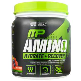 MusclePharm Amino 1 Hydrate + Recover