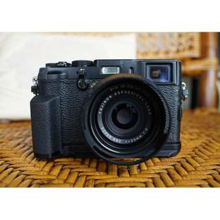 Fuji X100S with many accessories; negotiable within reason.