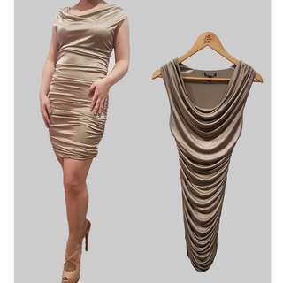 Gold Party Dress