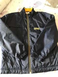 Adidas擋風保暖外套(150-160)
