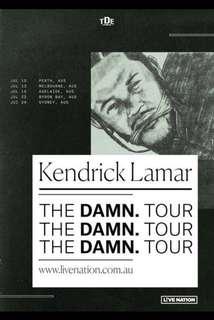 kendrick lamar concert ticketsx2