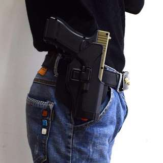 Tactical Miliatry Hunting Airsoft Gear Accessories Waist Belt Gun Holster For Glock 17 18 19 22 23 32