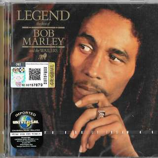 BOB MARLEY And The Wailers Legend The Best of Imported CD