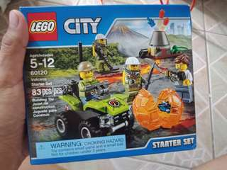 Lego City Volcano Explorers