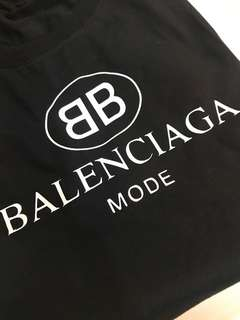 Balenciaga BB Mode Shirt