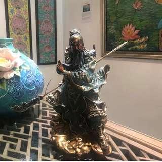 Guan Yu statue (Bronze)