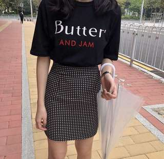 Ulzzang Butter and Jam Tshirt