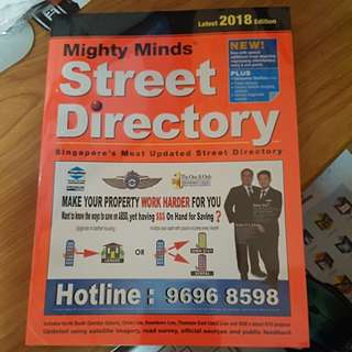 Driving Guide Book , Street Directory and Singapore Map