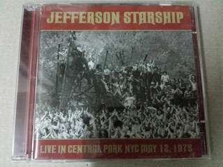 Music CD (2xCD): Jefferson Starship–Live In Central Park NYC May 12, 1975 - Real Gone Music