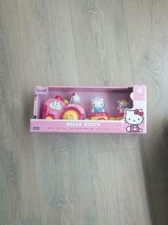 new train kitty toy