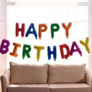 Happy Birthday 12 inch set