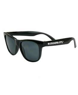 RuggedButts Black Sunglasses