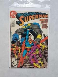 DC Comics Superman 8 Near Mint Condition John Bryne Art
