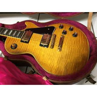 全新Gibson Custom Shop Les Paul Custom 1968  Reissue (Honeyburst)