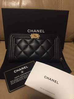 Chanel boy wallet - $4680 (hold)