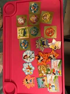 Disney sticker 迪士尼貼紙交換 換咩都得