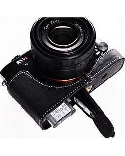 TP leather half case for Sony RX1R