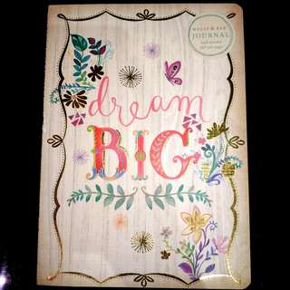 MOLLY & REX Dream Big Journal (+ free pencil lead)